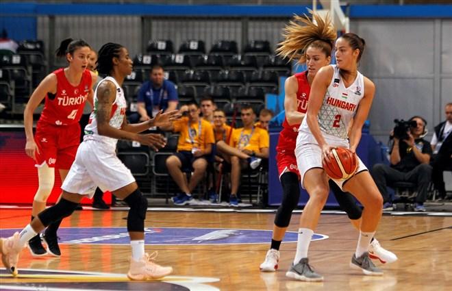 A Milli Kadın Basketbol Takımı, Macaristan'ı 59-58 mağlup etti