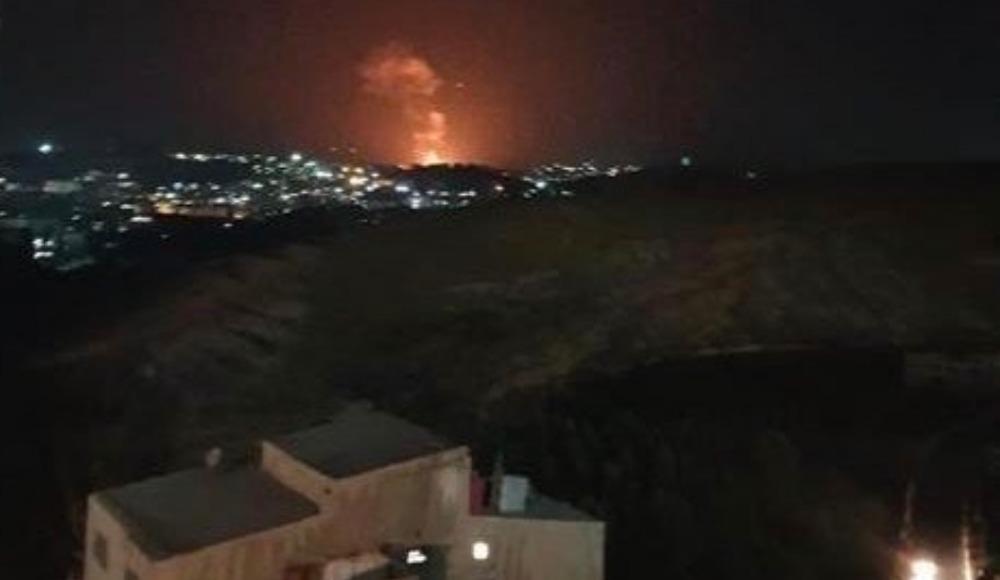 Kıbrıs'ta patlama sesi duyuldu! Şam...