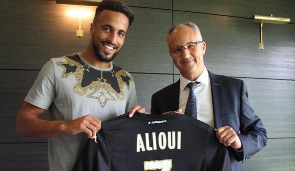 Trabzonspor'un istediği Rachid Alioui, Angers'e transfer oldu!