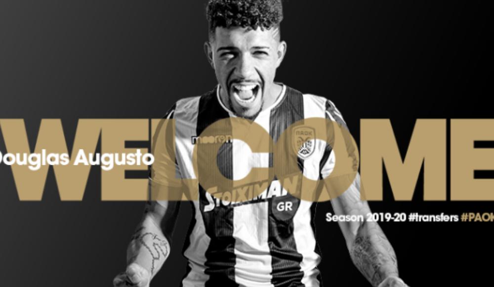 PAOK, Douglas Augusto'yu transfer etti