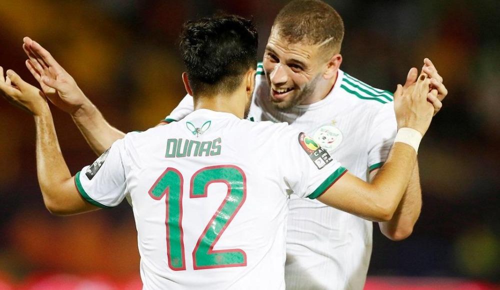 Slimani şov yaptı, Cezayir son 16 turuna yükseldi