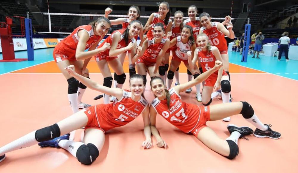 U19 Genç Kızlar Balkan Şampiyonası'nda Finaldeyiz