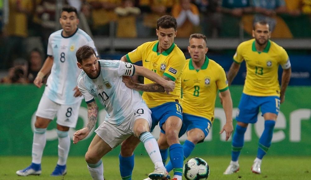 Brezilya, Arjantin'i rahat geçti!