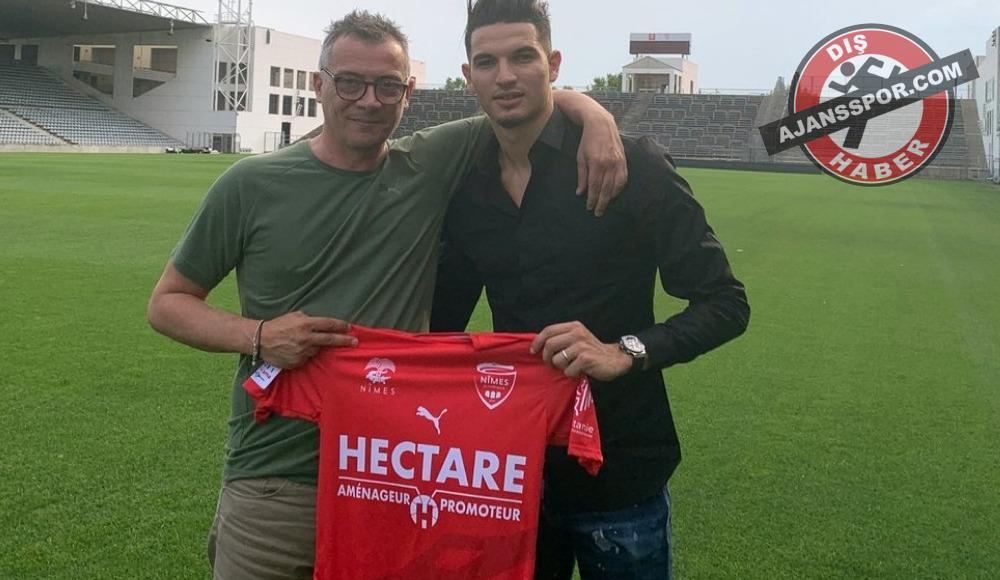 Nimes, Zinedine Ferhat ile 3 yıllık sözleşme imzaladı