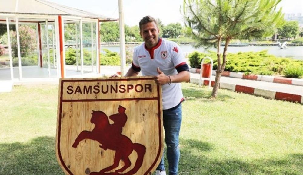 Samsunspor, Guido Koçer ile 2 yıllık sözleşme imzaladı
