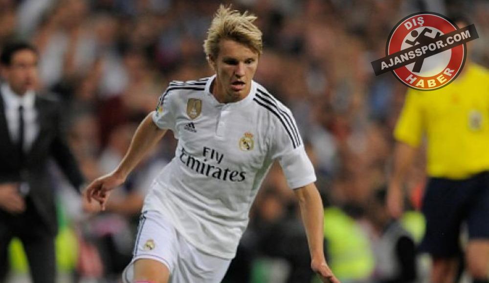 Martin Odegaard, Real Sociedad'a kiralandı