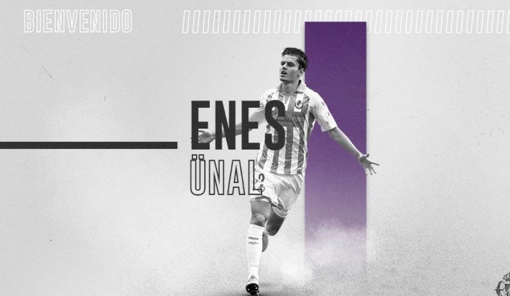 Enes Ünal, Real Valladolid'de kaldı