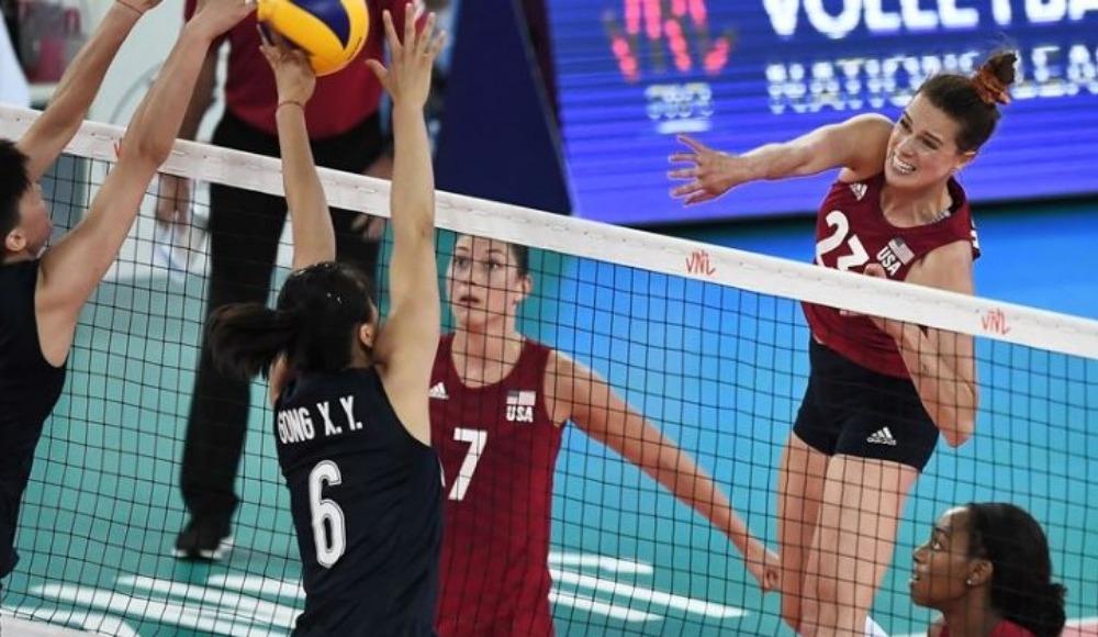 Voleybol Uluslar Ligi kadınlarda finalin adı belli oldu!