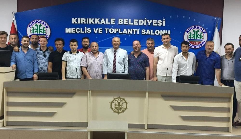 BA Kırıkkalespor'un yeni başkanı belli oldu