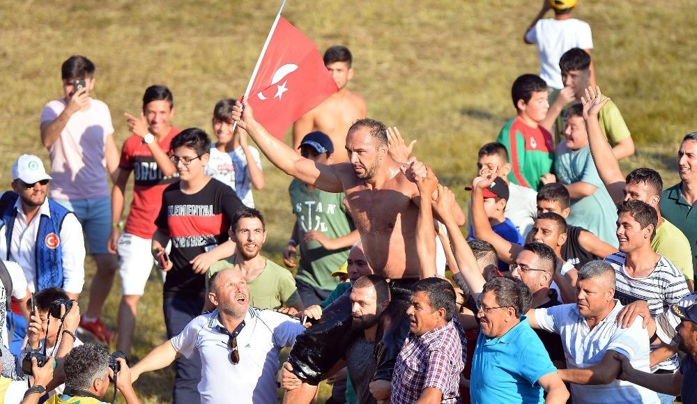Kırkpınar'ın şampiyonu Ali Gürbüz!