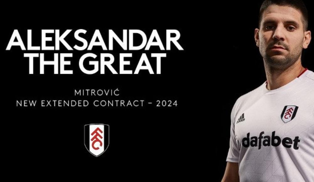 Fulham, Aleksandar Mitrovic ile sözleşme yeniledi
