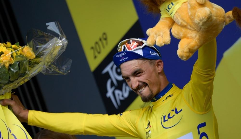 Fransa Bisiklet Turu'nun 3. ayağını Julian Alaphilippe kazandı