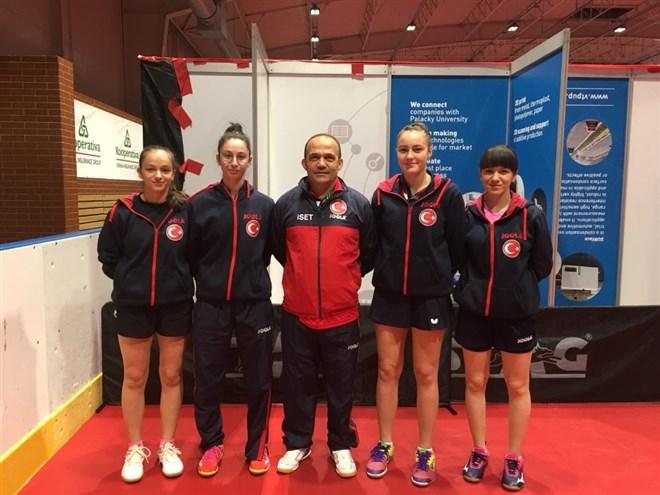 Özge Yılmaz'lı Milli Takım Avrupa Şampiyonası'nda Çeyrek Finalde
