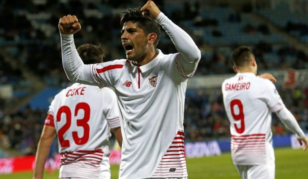 """Canlı yayında flaş açıklama: """"Banega Sevilla'da kalacak"""""""