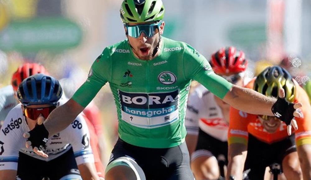 Fransa Bisiklet Turunun 5. etabını Peter Sagan kazandı