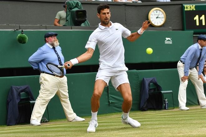 Djokovic, Wimbledon Tenis Turnuvası'nda finalde!