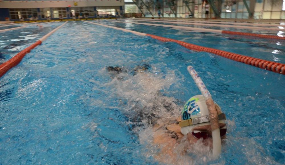 Paletli yüzme şampiyonası Ordu'da başladı