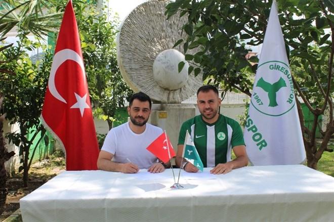 Özgür Can Özcan ve Mehmet Güven Giresunspor'da