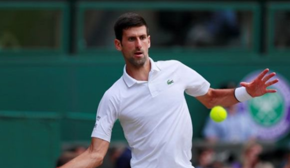 Wimbledon tek erkeklerde kazanan Djokovic