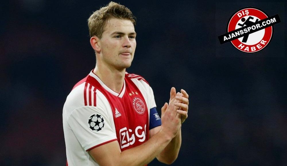Ajax'tan Matthijs de Ligt açıklaması