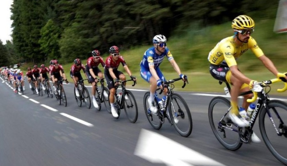 Fransa Bisiklet Turu'nda son haftaya geçidi.Heyecan dorukta