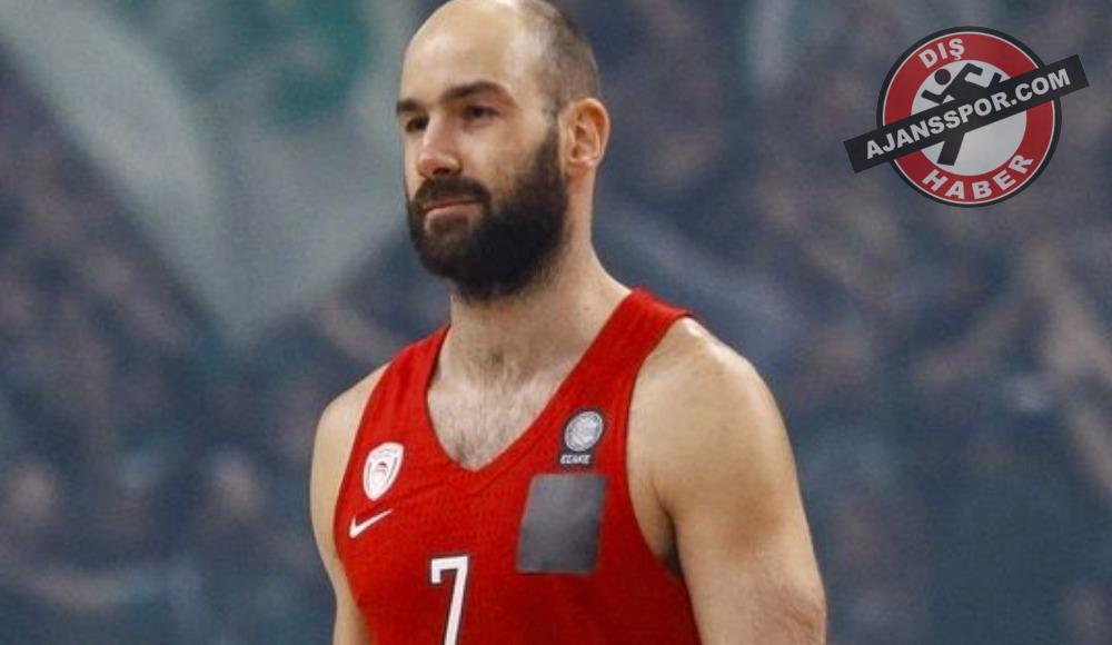 Vassilis Spanoulis bir yıl daha Olympiakos'ta