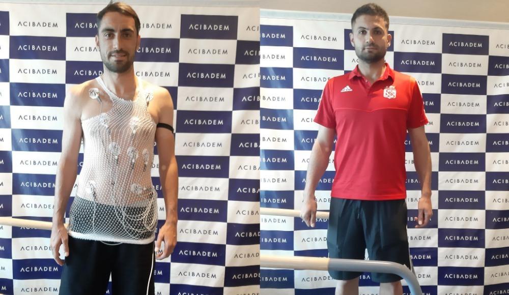 Sivasspor'da Uğur ve Ali sağlık kontrolünden geçti