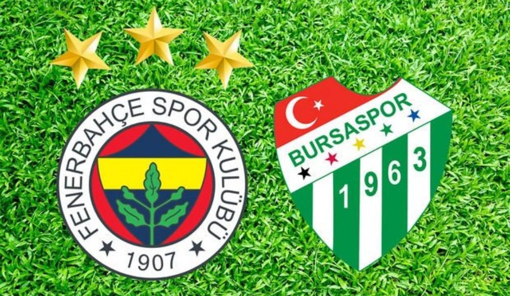 Fenerbahçe-Bursaspor maçı hangi kanalda yayınlanacak?