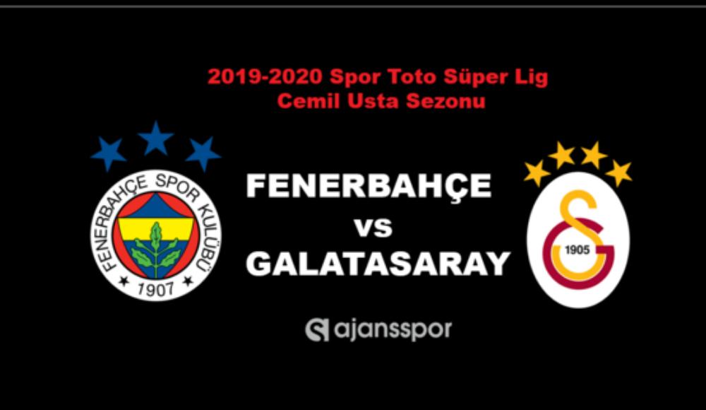 Galatasaray - Fenerbahçe maçları ne zaman? Fikstür çekildi...