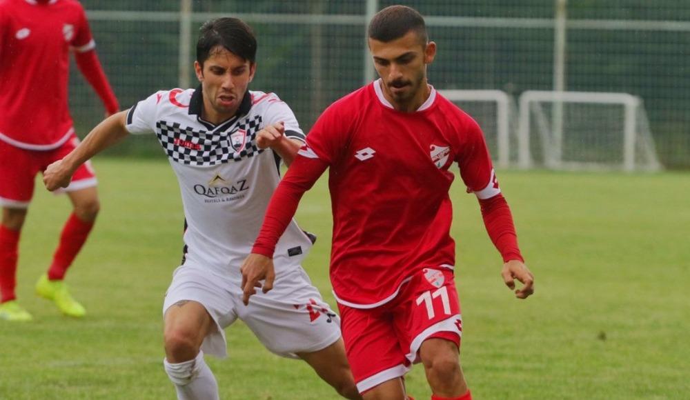 Boluspor, Azerbaycan ekibi Gebele'ye 2-1 kaybetti