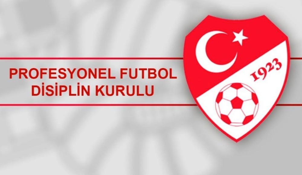 PFDK kararları açıklandı! Hatayspor, Sakaryaspor, Gazişehir...