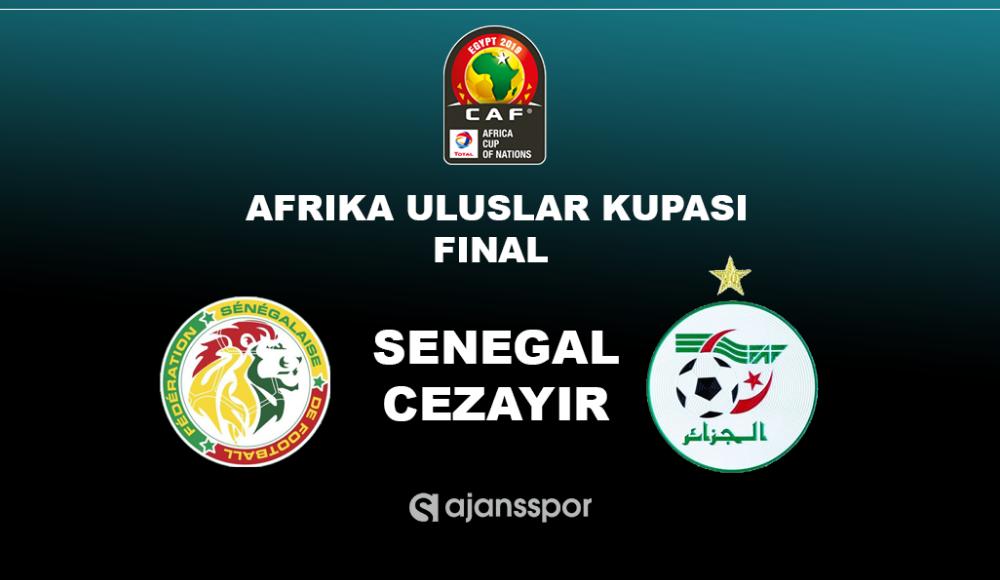 Senegal - Cezayir (Canlı Skor)