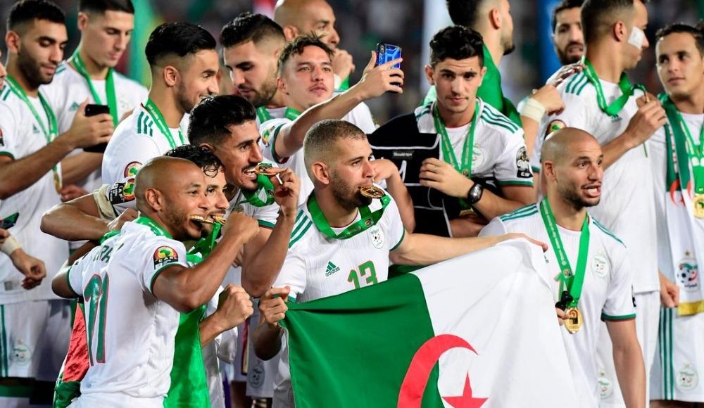 Afrika Uluslar Kupası'nda şampiyon Cezayir
