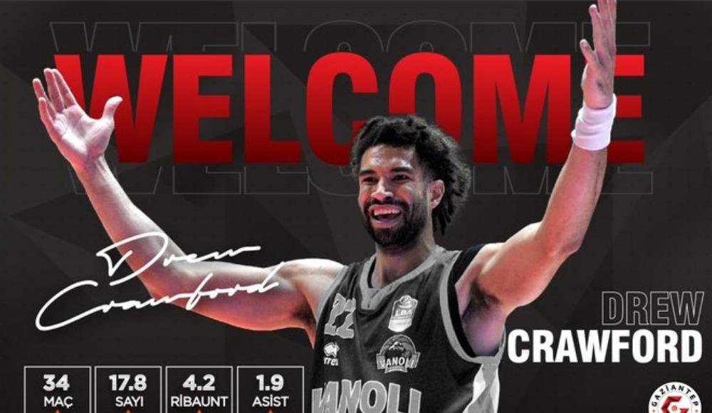 Gaziantep Basketbol, Drew Crawford'ı takıma kattı!