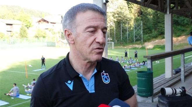 "Ahmet Ağaoğlu: ""Futbolcu satarak para kazanacağımız sezon bu sezon değil"""