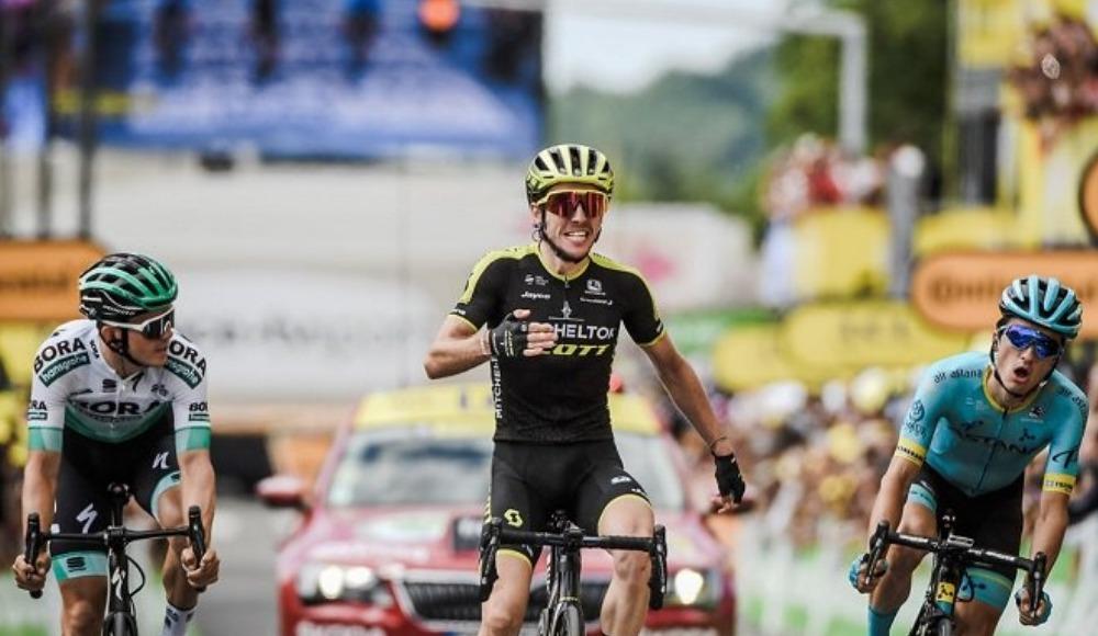 Fransa Bisiklet Turu'nun 15. etabını, Simon Yates kazandı