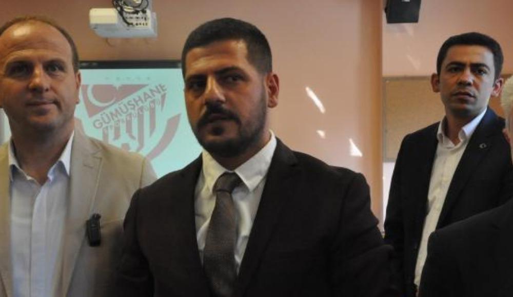 Gümüşhanespor'da yeni başkan Yunus Emre Durmuş