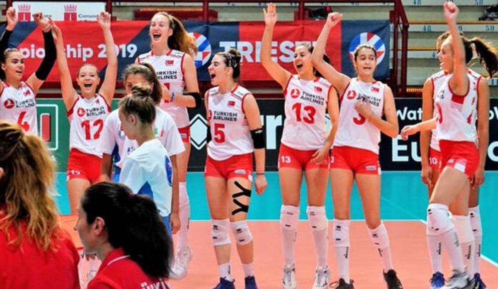 16 Yaş Altı Kızlar Avrupa Şampiyonası'nda şampiyon Türkiye
