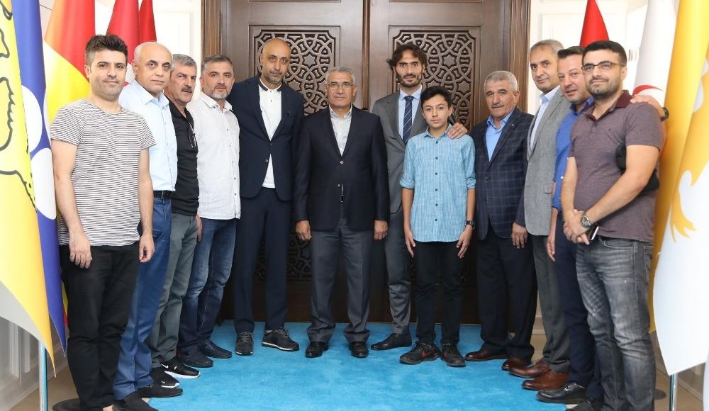 Hamit Altıntop ve Tolunay Kafkas'tan Battalgazi ziyareti