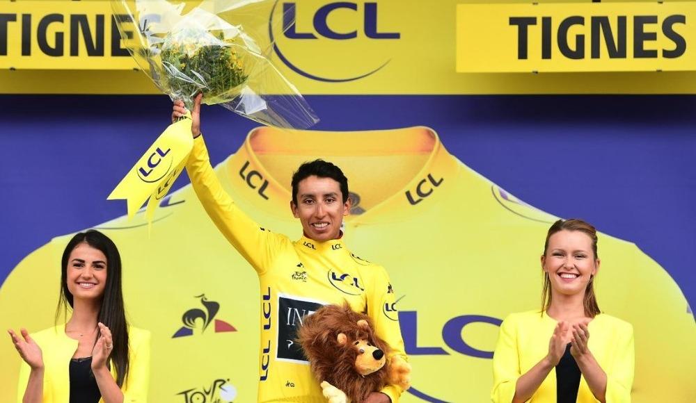 106. Fransa Bisiklet Turu'nun 19. etabını Egan Bernal kazandı