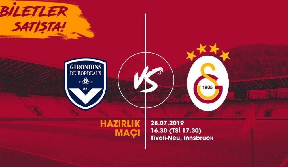 Galatasaray, yarın Bordeaux ile karşılaşacak