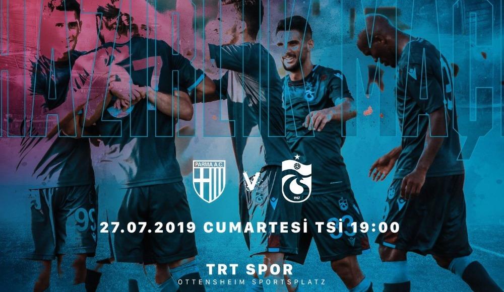 Trabzonspor - Parma maçı ne zaman, saat kaçta, hangi, kanalda?