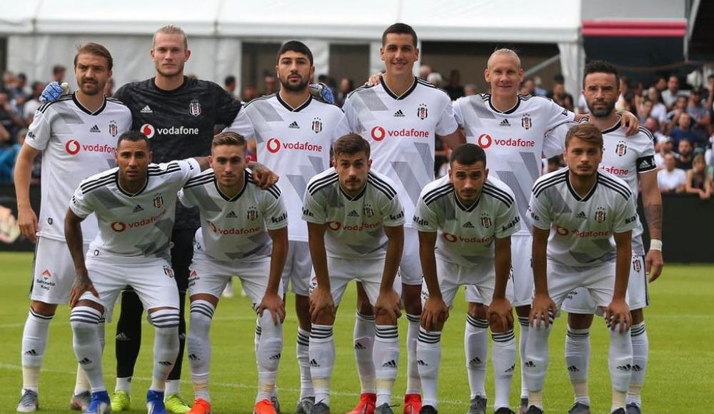 Beşiktaş hazırlık maçında mağlup oldu