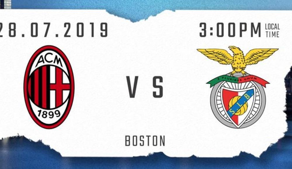Milan - Benfica (Canlı Skor)