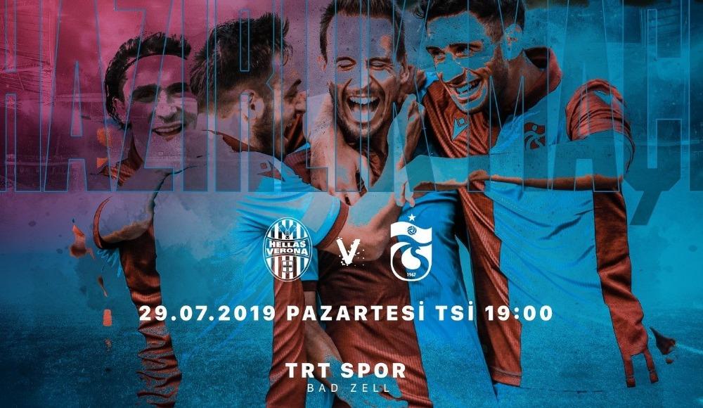 Trabzonspor - Verona (Canlı Skor)