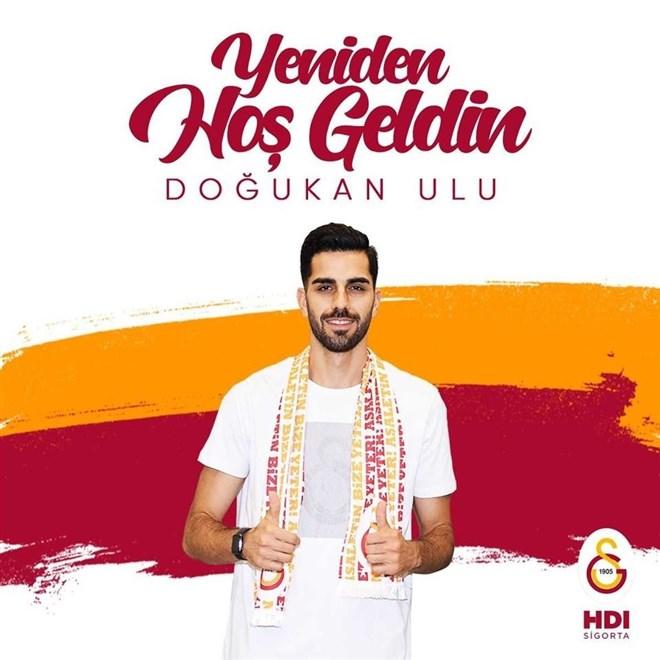 Doğukan Ulu 3 yıl daha Galatasaray'da