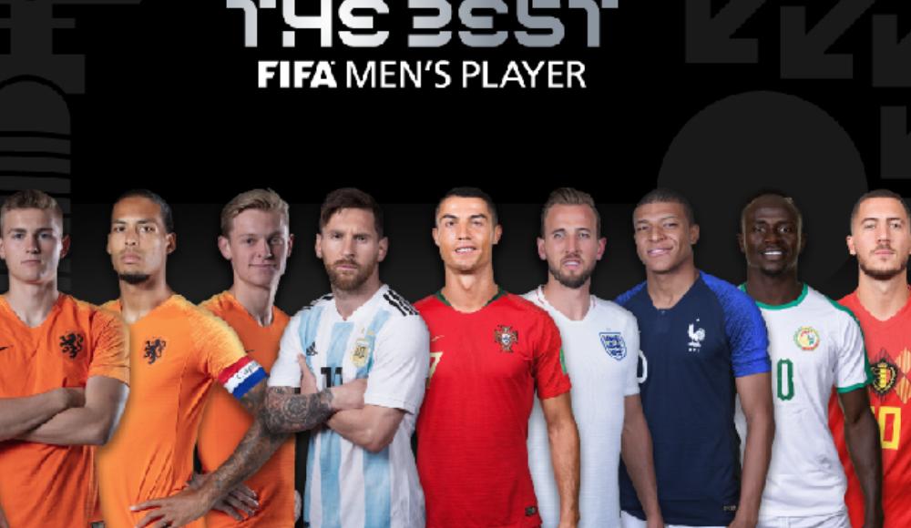 FIFA The Best yılın en iyi erkek futbolcu adayları açıklandı