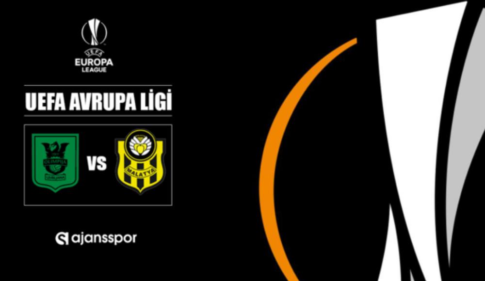 Olimpija - Yeni Malatyaspor (Canlı Skor)