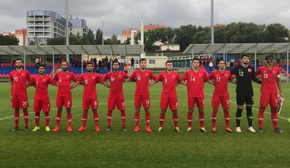 U19 Milli Takımı, Belarus'u 4-0 yendi