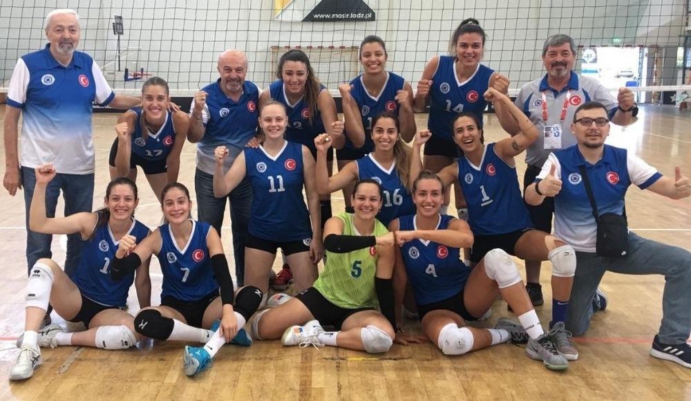 İstanbul Aydın Üniversitesi Kadın Voleybol Takımı, Avrupa ikincisi oldu